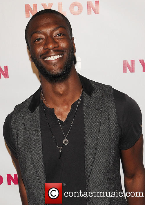 Aldis Hodge at  NYLON Magazine Young Hollywood Party - Tuesday 14th May 2013