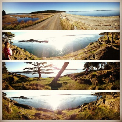The San Juan Islands are a magical place.  (at Lopez Island Ferry Terminal)