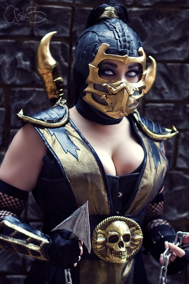 ishotcosplay:  kombat scorpion