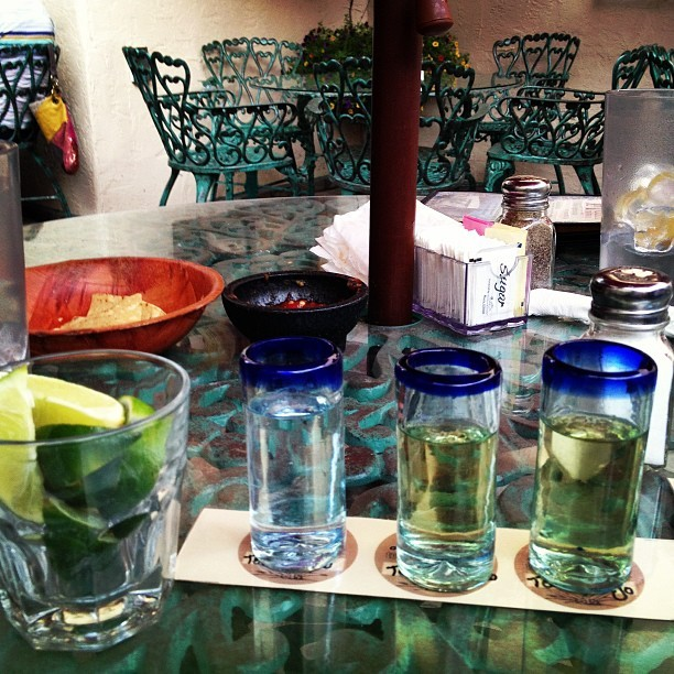 5 de Mayo tequila flight #gone