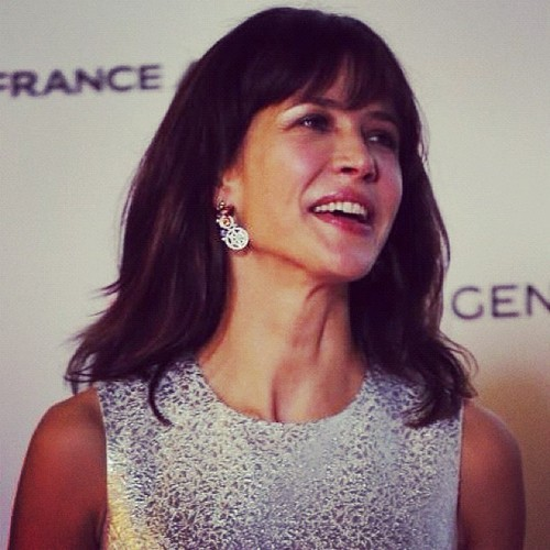 #SophieMarceau on the red carpet last evening #singapore #french #flim #festival #cinema #actress