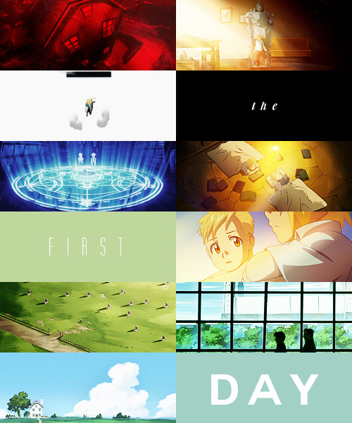 fma meme: favorite episode ↳ episode two: the first day (1/17)