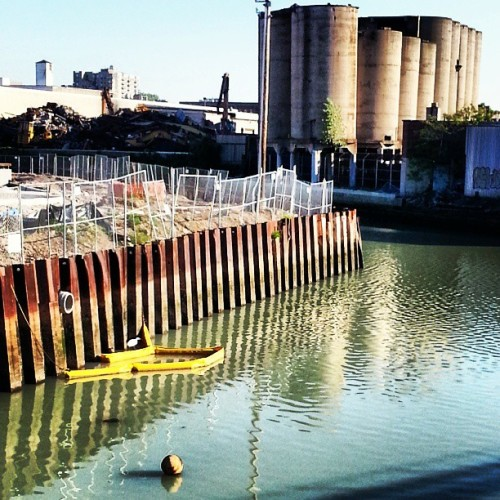 #gowanus canal #Brooklyn  (at Gowanus Canal Boat Launch)