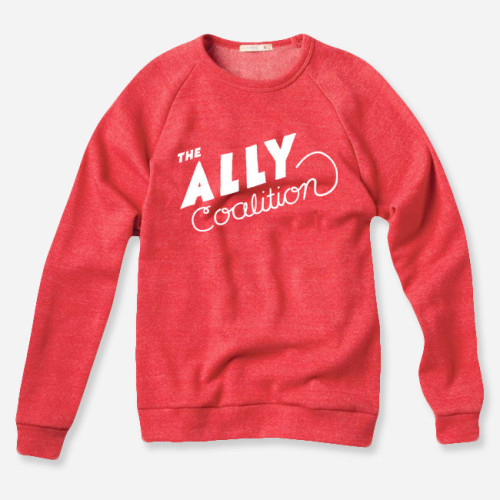 ITEM OF THE DAY: ITEM OF THE DAY: THE ALLY COALITION RED PULLOVERby Rebecca Fernandez http://bit.ly/ZoRzk8
