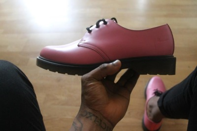 New pick up: Dr Martens pink low top