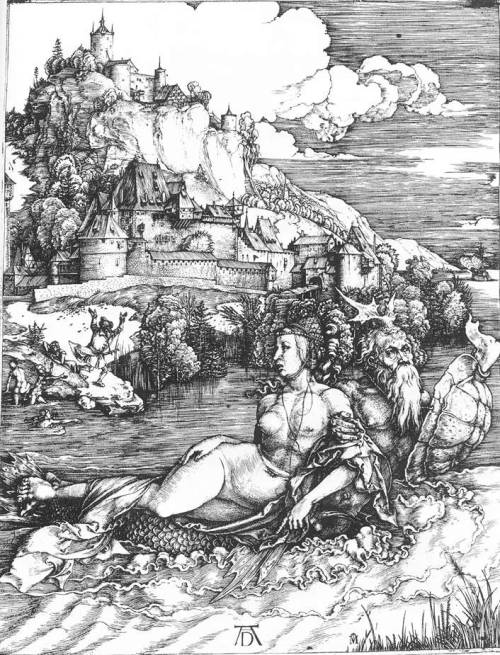 spinel333:  Albrecht Dürer, The Sea Monster