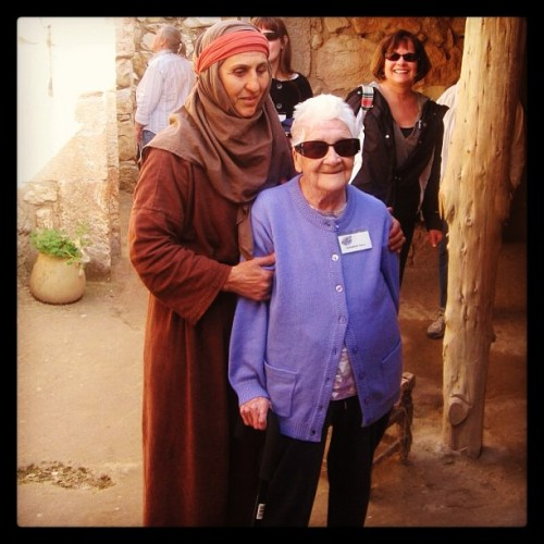 My great grandmother, who is 105 today, visited Jerusalem last month because she had never been. Any excuse we have not to take chances in life is invalid.
