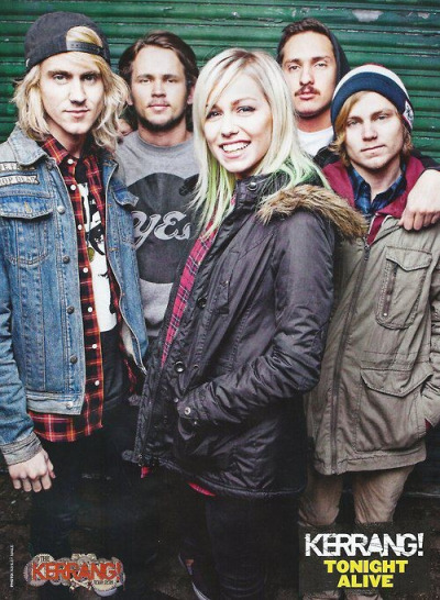 i love Tonight Alive x3❤❤❤