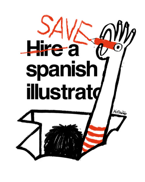 For all good spanish illustrators :) punio:  Reblog, print or whatever, please!