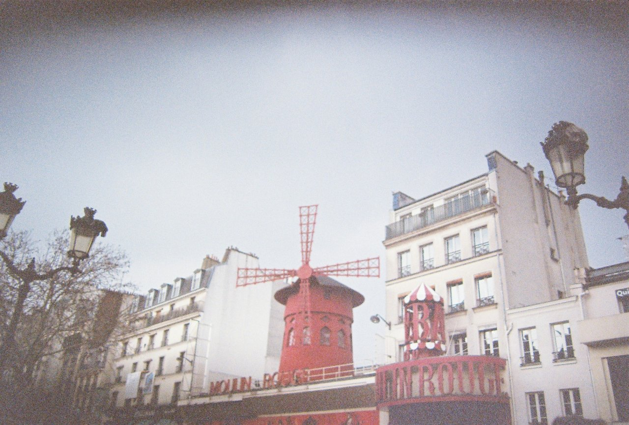 moulin rouge , paris march 2013