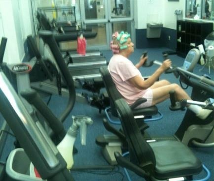 stankyworkoutclothes:  Multitasking at it's finest