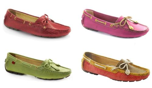 New arrivals – Marc Joseph New York's most popular driver moccasin made of genuine leather with a sleek bow-tie in fresh & fun spring colors! A padded footbed and durable sole gives this shoe the comfort that a classic driver moccasin needs for all-day wear!
