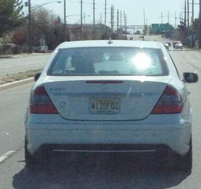 Spotted: NJ 2013 WIZOFOZ thanks to Kelly! Pay no attention to the driver behind the curtain.