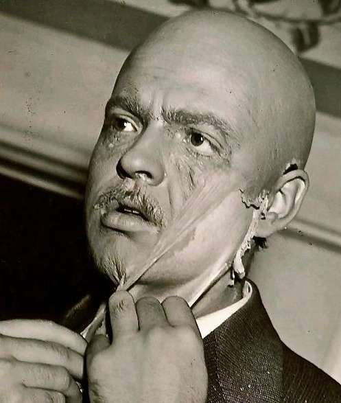 "cinephilearchive:  Orson Welles removes his makeup on the set of Citizen Kane. Notebook:  Cinephilia & Beyond has an amazing find: the complete collection of Orson Welles' Sketch Book: ""a series of six short television commentaries by Orson Welles for the BBC in 1955. Written and directed by Welles, the 15-minute episodes present the filmmaker's commentaries on a range of subjects. Welles frequently draws from his own experiences and often illustrates the episodes with his own sketches.""  All the essential documentaries on Orson Welles, including Orson Welles: The Paris Interview (1960), Filming 'The Trial' (1981), The Battle Over Citizen Kane (1996), Shadowing the Third Man (2004), Orson Welles: The One-Man Band (1995), With Orson Welles: Stories from a Life in Film (1990), Filming 'Othello' (1978), F for Fake (1973), Orson Welles with French film school students, Orson Welles ""Its All True"" Citizen Kane and RKO, and seven-minute video of a very young-looking Welles (he was 23 at the time) addressing an onslaught of press members on October 31, 1938, the day after The War of the Worlds broadcast."