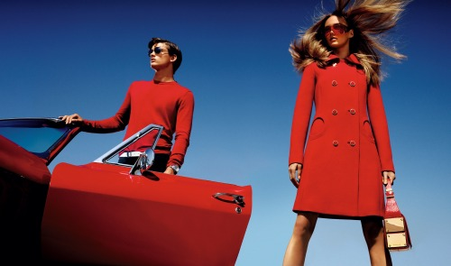 A snap from Michael Kors' stunning spring 2013 ad campaign, photographed by Mario Testino.