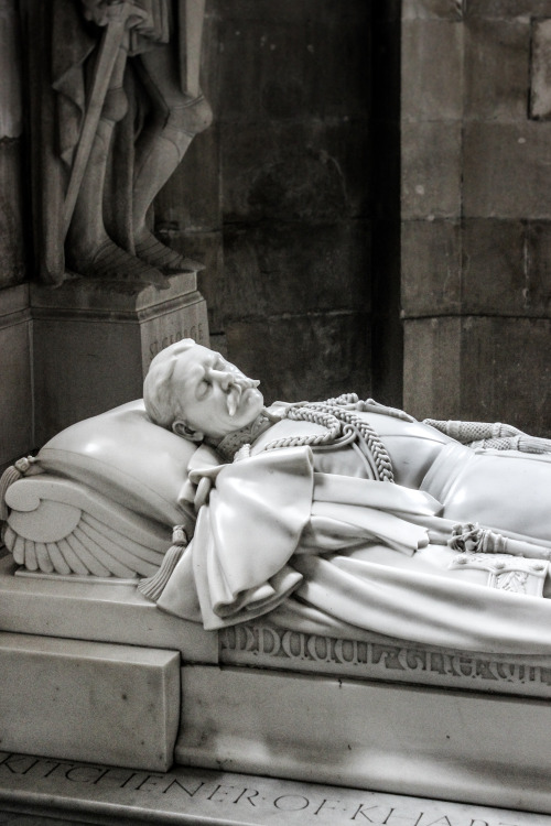 """myworldview-photography:  """"Lord Kitchener's Rest"""" St. Paul's Cathedral - England"""