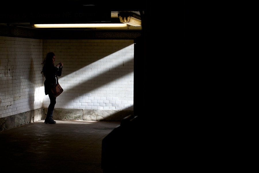 Shadow Girl, 77th Street Station