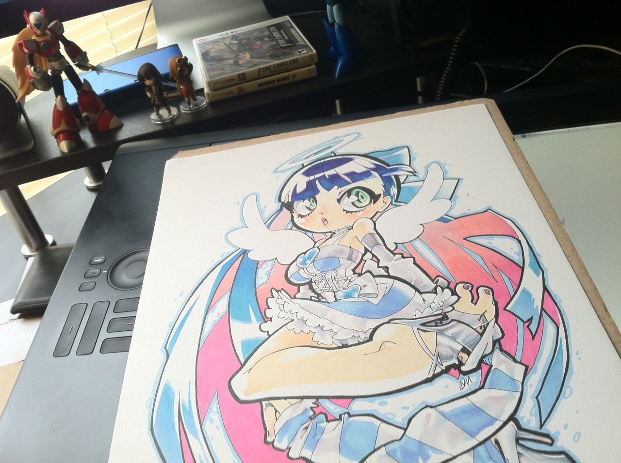 Whoa, look what came in the mail! Rose is a MASTER in the way of the COPIC… SO SWEET!!!  :D