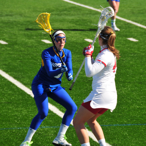 cornellsports:  Cornell Women's Lacrosse vs. Hofstra, March 6, 2010.  blue man group