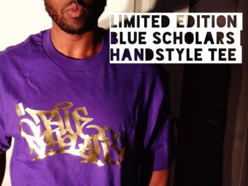 "bluescholars:  DROPPING SOON  LIMITED ""GEO GOES BACK TO UW"" EDITION PURPLE AND ACTUAL GOLD OG HANDSTYLE TEE STAY POSTED"