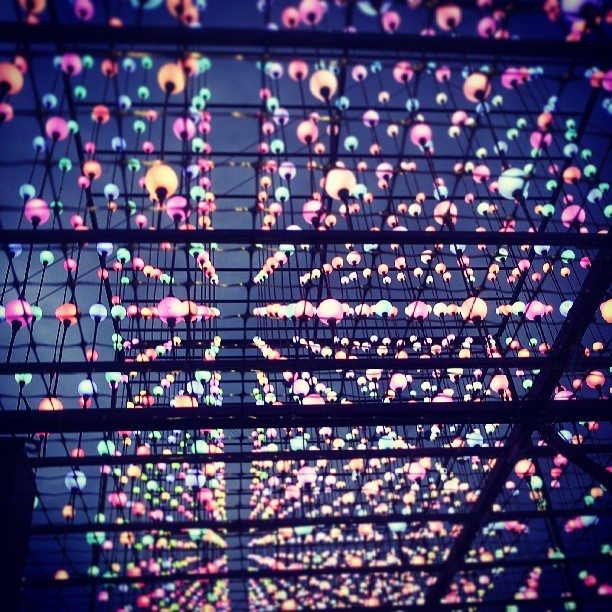 anjunadan:  This was stunning. #EDCNY #art #lights