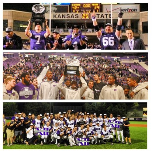 Best. Senior. Year. Ever. #kstate #3maw #champsonchampsonchamps
