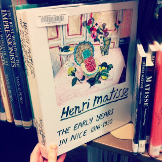 on the hunt for this 1st edition hardback | Henri Matisse The Early Years in Nice 1916-1930