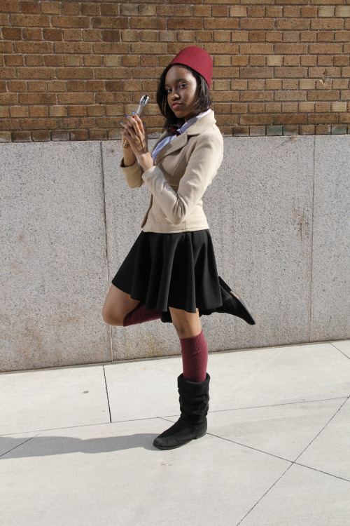 cosplayingwhileblack:  Character: Femme 11th Doctor Series: Doctor Who SUBMISSION   Adorable and badass. Perfect combination.