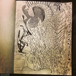 My Mood Poured Into This Drawing! #doodle #drawing #sketch #sketchbook #pencil #pencildrawing #abstract #abstractart #art #abstractdrawing #originalartbyCAM #CMartin3z84