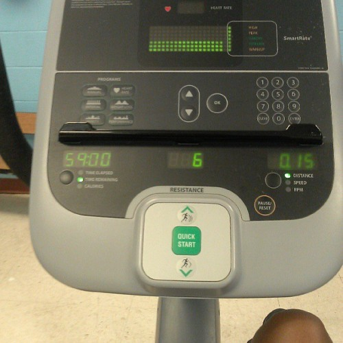 Getting on my cardio . #summertimefine #workoutmode