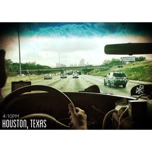 4:10PM - Houston, Texas | Houston we have a problem… It's called 'The Hard & Relentless Tour' and it just entered your city. (at The Hard & Relentless Tour)