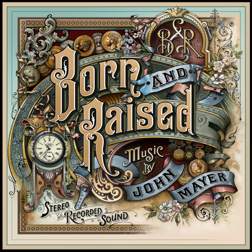 The Making of John Mayer's 'Born & Raised' Artwork, by Danny Cooke I could gaze upon this album cover all day.