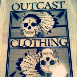 Coming soon Heffers www.facebook.com/OutcastClothingCompany #Outcast #clothing #company #hipster #cool #indian #headdress #cross #skull #bones #head #crossbones #arrows #bow #old #new #sweet #shirt