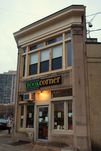 The Book Corner, the great little store that sponsored the Mary Roach book signing I went to in Philly!
