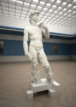 lego-land:  Lego Michelangelo's David