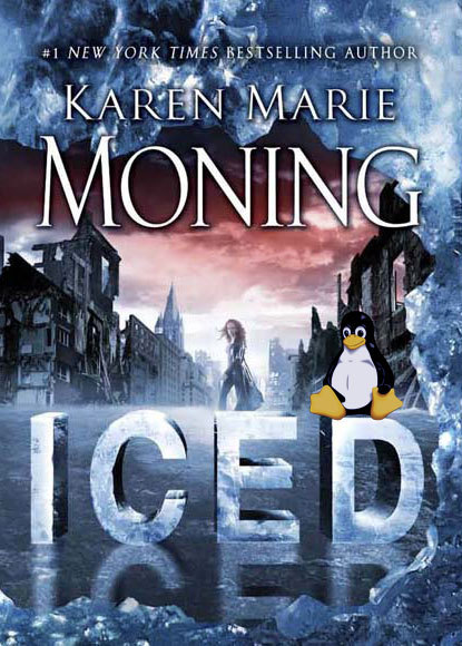 Now with random penguin: Iced by Karen Marie Moning