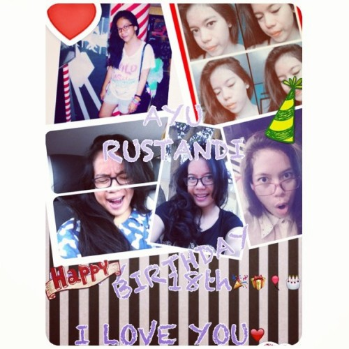 Happy Birthday @ayurstnd all the best wishes for u honey. I Love You🎉🎂❤ #HappyBirthday #18