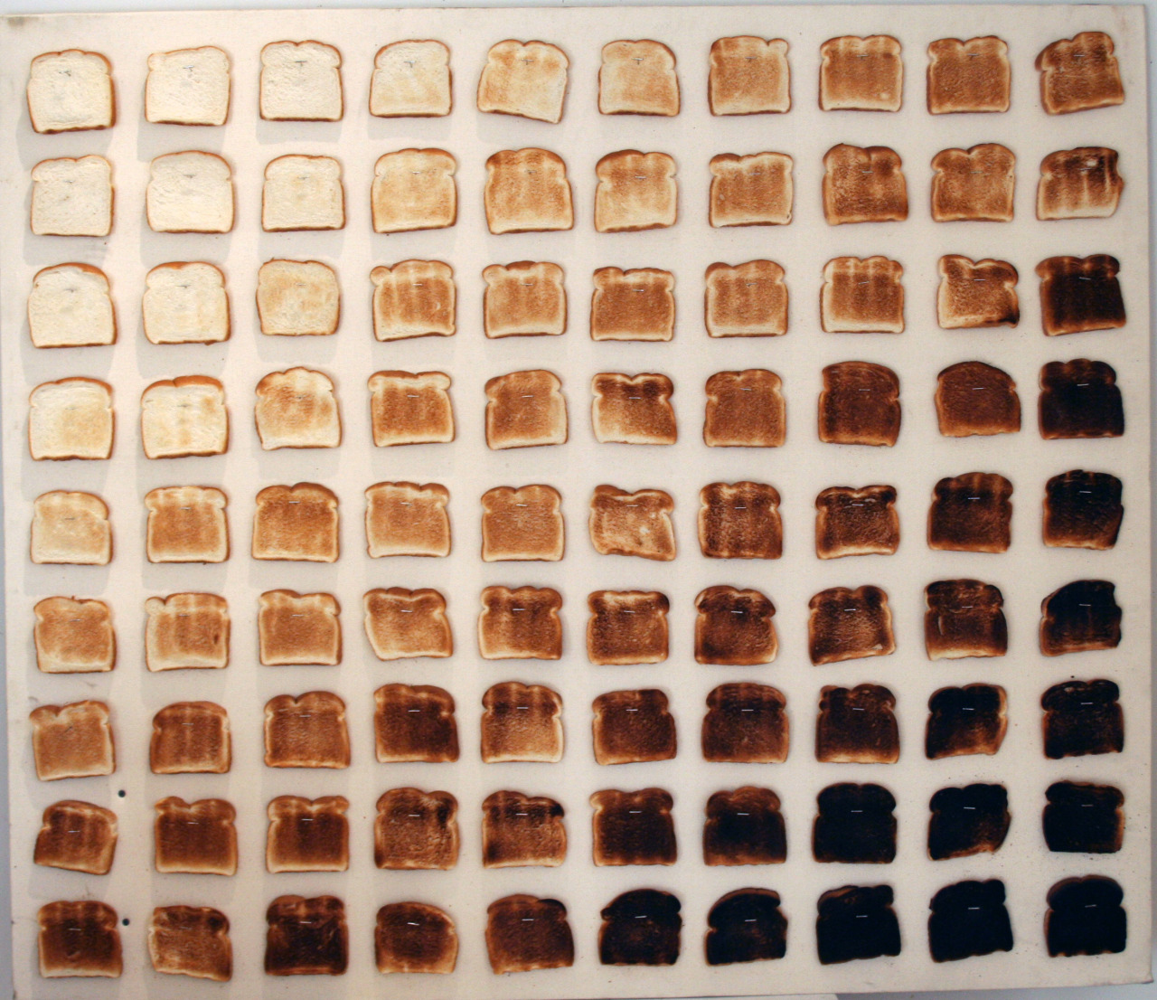 invitus-verum:  Yay, 90 shades of toast!!!