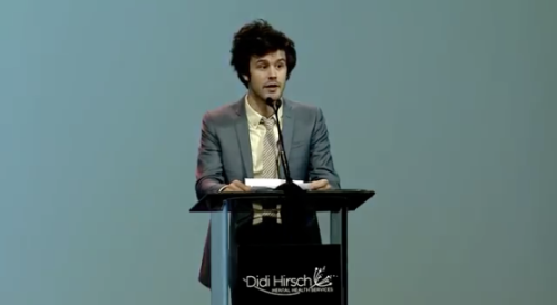 Last month, Passion Pit's Michael Angelakos was honored at the Erasing the Stigma Leadership Awards, recognized for his efforts in bringing awareness to the issues of mental health. (via Passion Pit's Michael Angelakos Honored For Mental Health Awareness Efforts | Under The Radar)