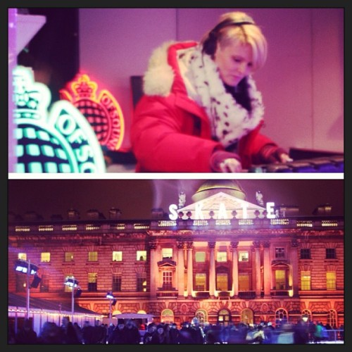 Listen back to Ministry of Sound Radio taking over Somerset House's Skate night with Sister Bliss and X-Press 2. Click here to listen :) (Photo via Instagram)