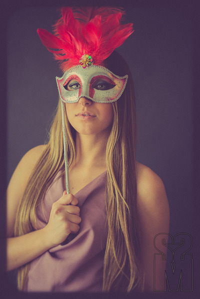 masquerade - D600 portrait on Flickr.