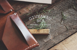 lylaandblu:  lylaandblu:  Giveaway! | L&B x S&BWe have done a few before and here is another! This time around the piece we are giving away is exceptional! We have recently teamed up with Stock & Barrel Co. to sell handcrafted leather goods! Some of which we have in the shop now! We are giving one lucky winner a beautifully oiled and dyed leather minimalist wallet with a simple bi-fold and saddle stitching! Handcrafted in America and something any lad or lady would love to have in their wardrobe! RULES FOR ENTRY:You must reblog this post with all information attached (c'mon now don't we want to share this opportunity with everyone?) We will draw a random name (reblogger!) at the end of this month from the list of notes and ship it his/her way regardless of location! The more notes the better! If this post reaches 1,000 notes, Lyla & Blu will also give away an old film camera to a separate winner! If it reaches 5,000 notes we will give a $100 gift certificate to our shop, 1924.US! Good luck and thank you!   One Week Left!