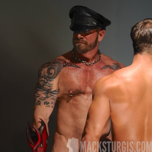 Saul Harris (a.k.a. Hudson) & Chris Miklos by Mack Sturgis Studio.