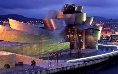 roughguides:  Things not to miss in Spain- the iconic Guggenheim Museum. #Spain #architecture #guggenheim museum  On my bucket list.
