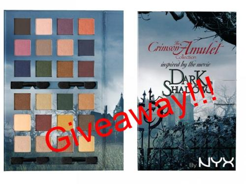 So the GIVEAWAY will be from 10. May till 31. May, the winner will be declared on 1. June, first summer day. To win The Crimson Amulet Dark Shadows palette, you will have to like Lovers of makeup page and share post which will be submitted on 10. MaySo don't miss this opportunity.