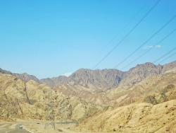 on the way to Nuweiba