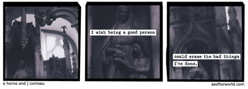 softerworld:  A Softer World: 970 (I guess that'd be incentivizing decency though.) buy this print