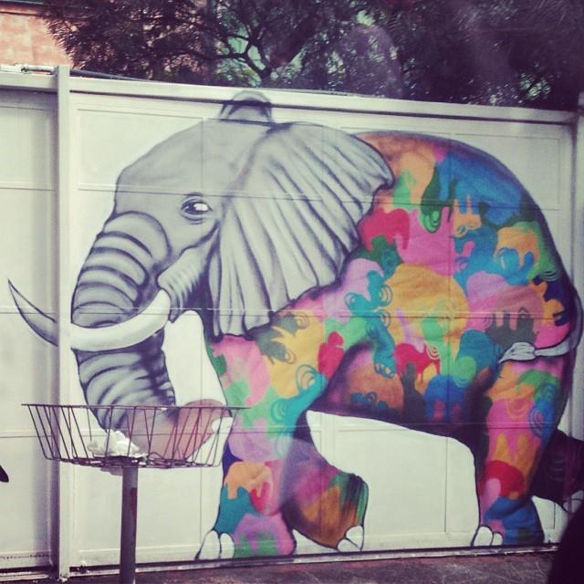 #grafite #sampa #pinheiros #elefante