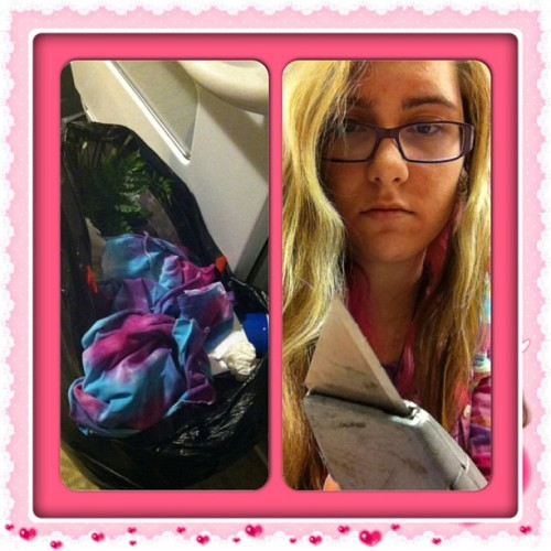 #instacollage #goodbye bye flowers bye matching shirt #bye it was fun while it lasted #cantevenmad