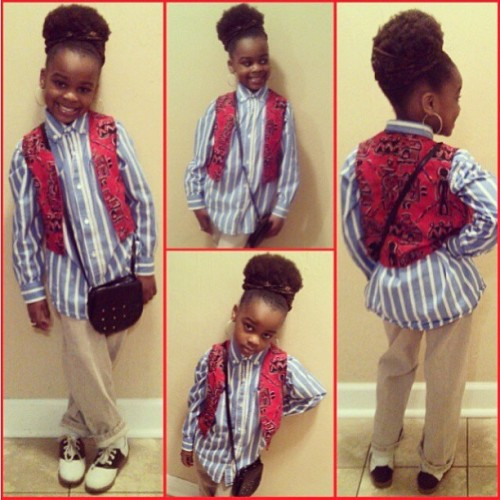naturallymenaturallyyou:  Diva on the rise @dejathediva #naturalhair